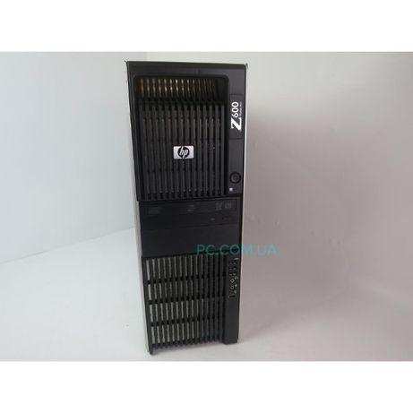 БУ Сервер WORKSTATION HP Z600 XEON E5530 8RAM 500HDD Radeon v8700