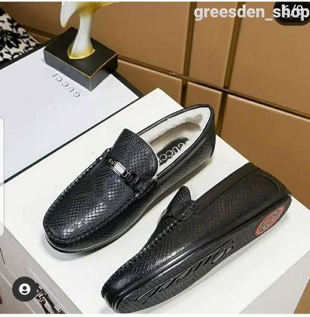 Мокасины зимние, зимняя обувь. Размер 40, распродажа, эксклюзив