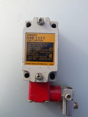 Концевой выключатель безопасности D4B-1117 Omron Япония