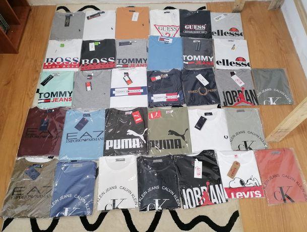 Revenda de t-shirts de marca
