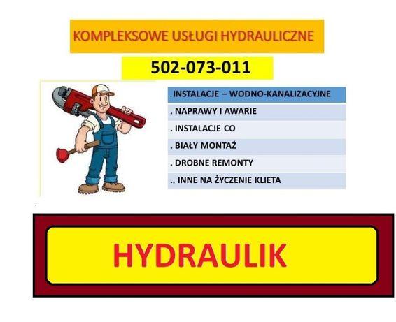 Hydraulik, Awarie ,Naprawa, Montaż Sprawnie i Tanio