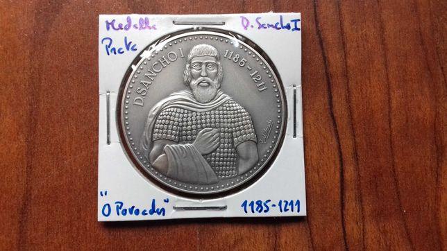 Medalha de Prata de D. Sancho I, O Povoador