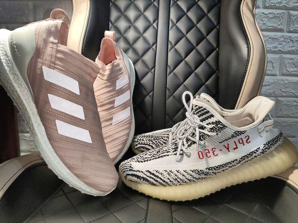 Кроссовки yeezy 350 zebra Adidas nike nemezis kith