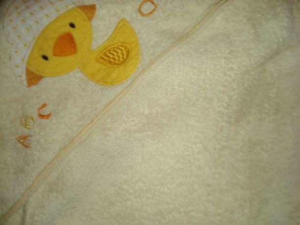 Полотенце-уголок для купания.