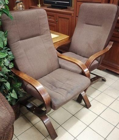 2 fotele fińskie wys 102 x szer 65 x gł 70 cm