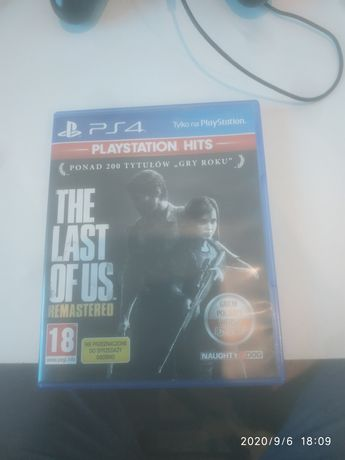 The last of us remasterd PS4