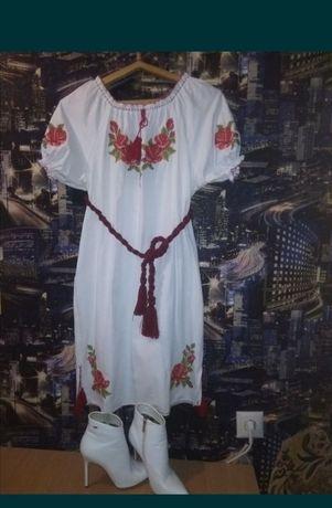 Продам Вышиванка-платье и батильены. КОМПЛЕКТ