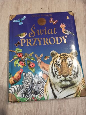Książka- Świat przyrody dla dzieci