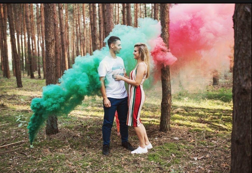 Kolorowe dymki do sesji zdjęciowej Pabianice - image 1