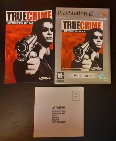 True Crime: Streets of L.A. gra PS2/Playstation 2 100 % sprawna