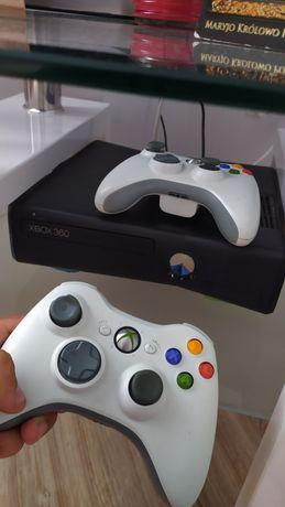 Xbox 360 dwa pady klawiatura  + 5 gier / FIFA 18