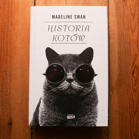 """M. Swan """"Historia kotów"""""""