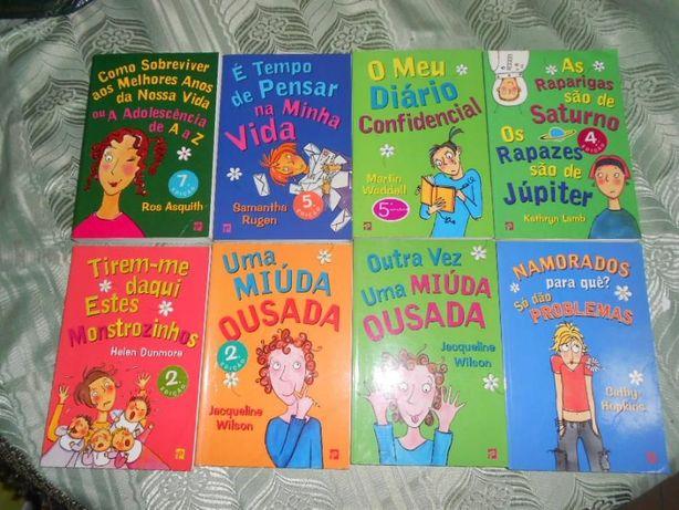 """Livros da coleção juvenil """"Clube das Amigas"""""""