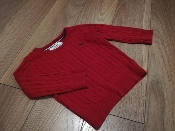 Sweterek idealny na święta 86/92cm