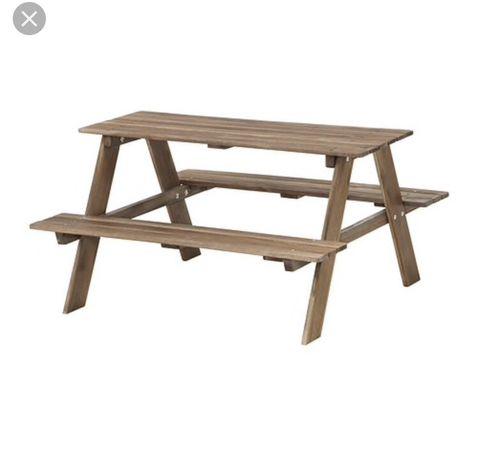 Stół piknikowy dla dzieci drewniany Resö stolik