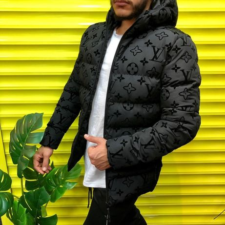 Зимння куртка Louis Vuitton , мужской пуховик