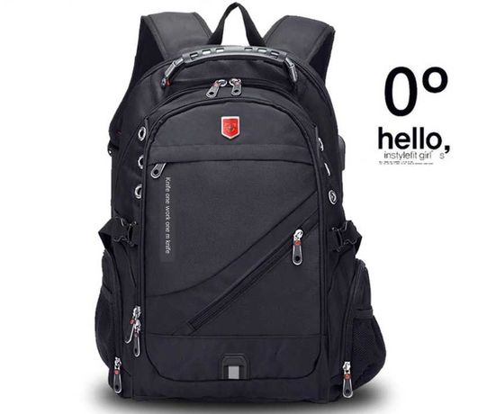 Швейцарский рюкзак Wenger SwissGear (Usb, Aux) + дождевик