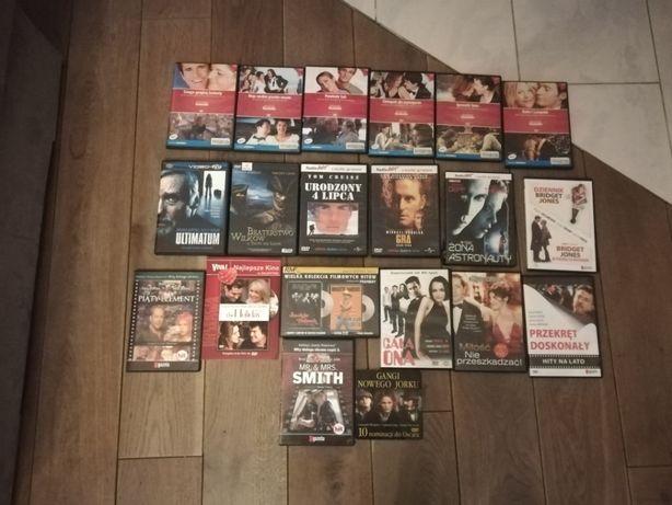Zestaw filmów DVD i PCV