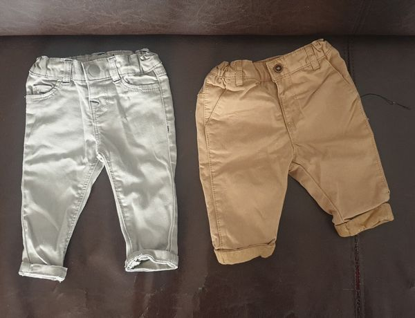 Eleganckie spodnie chłopięce rozmar 62