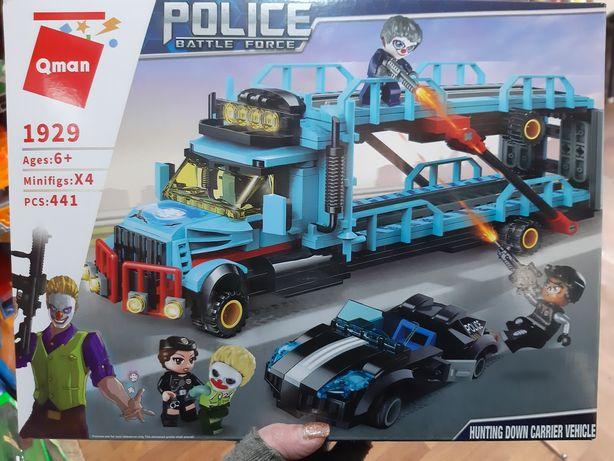 Конструктор аналог Лего Полиция 441дет