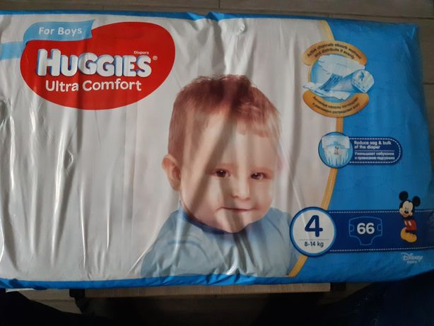Підгузки huggies ultra comfort 66 штук