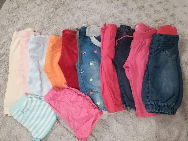 12 par spodni rozmiar 6-9 msc