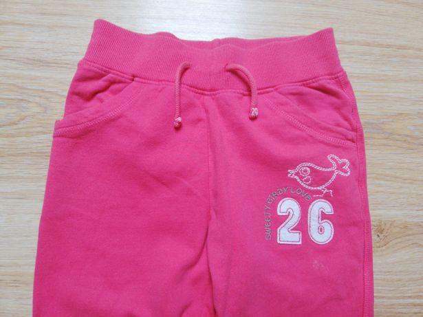 Dresowe spodnie rozm 122 firmy TOPOLINO