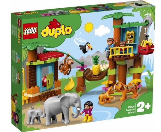 Конструктор LEGO DUPLO Тропический остров 73 детали (10906)