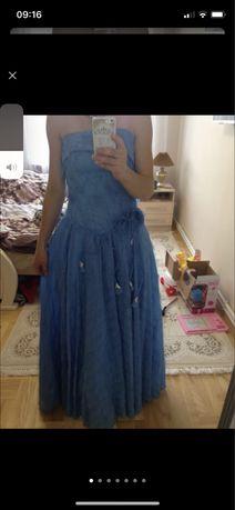 Вечернее випускное платье-травка плаття на випуск