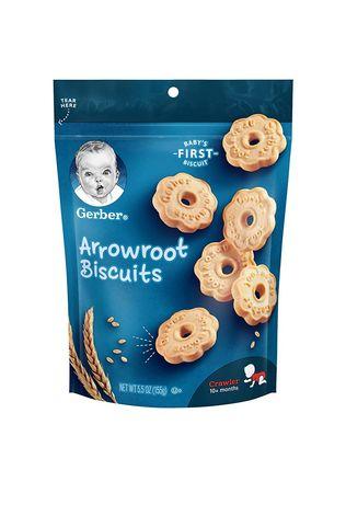 Печенье Gerber, для малышей от 10месяцев, 155г. Gerber puffs
