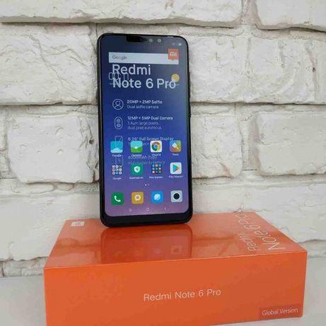 """Новый Xiaomi Redmi Note 6 Pro 3/32GB 4/64 20МП 6.26"""" Black 2сим"""