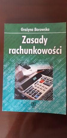 Książka Zasady rachukowości Grażyna Borowska