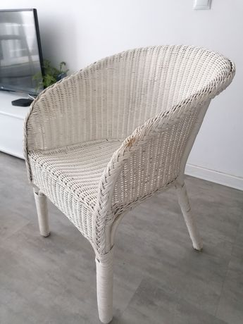 Cadeira de verga branca