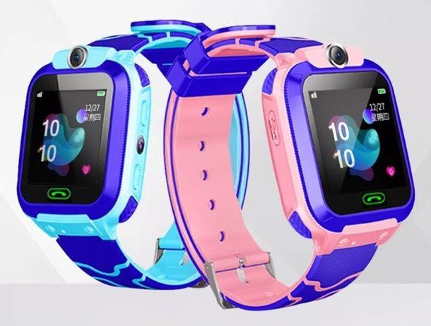 Relógio telemóvel para crianças com localização GPS e ligação SOS