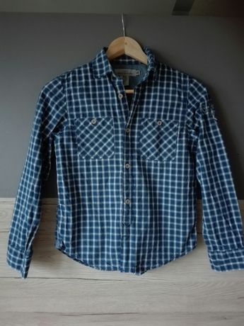 Koszula Chłopięca H&M krata BDB 140-146