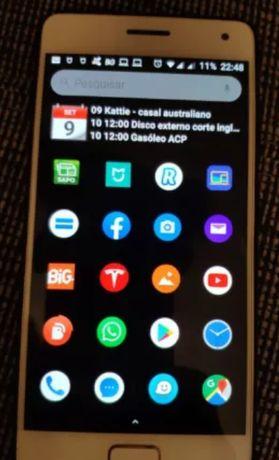 Telemovel Lenovo ZUK Z2 PRO SD820 6GB RAM/128GB Memoria