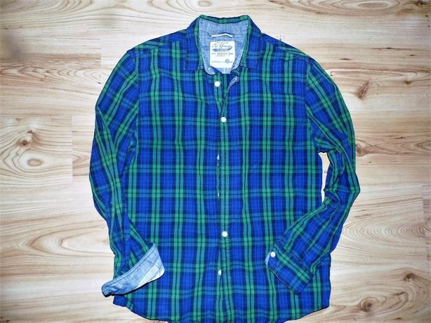 ST, George- sliczna koszula w krate M
