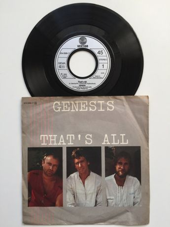 Winyl GENESIS That's All VERTIGO 814 898 Winylowa 1983