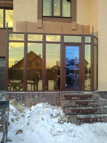 Установка металопластиковых окон, балконов, роллет, бронь дверей