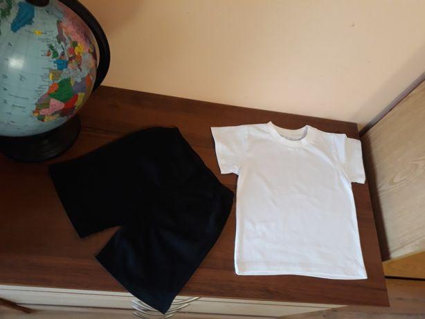 Шорти, футболка біла, комплект для хлопчика, футболка, белая футболка