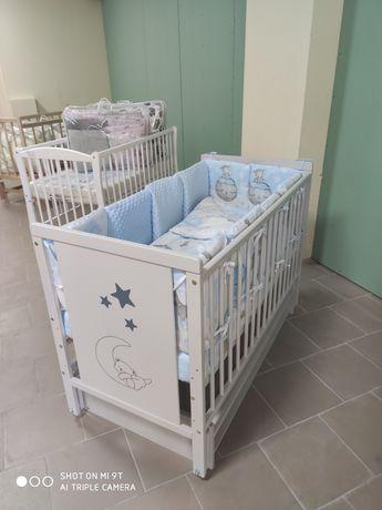 Детская кроватка кровать Мишка