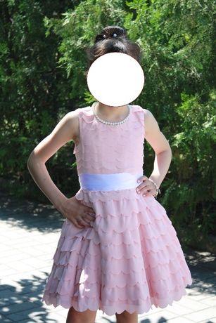 Нарядное платье Monsoon для девочки 4-7 лет.