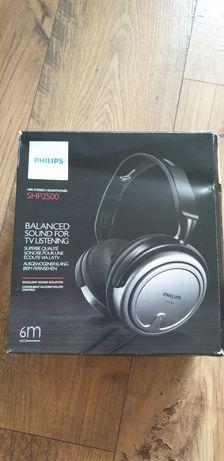 Sluchawki Philips SHP 2500 nowe przewód 6metrow