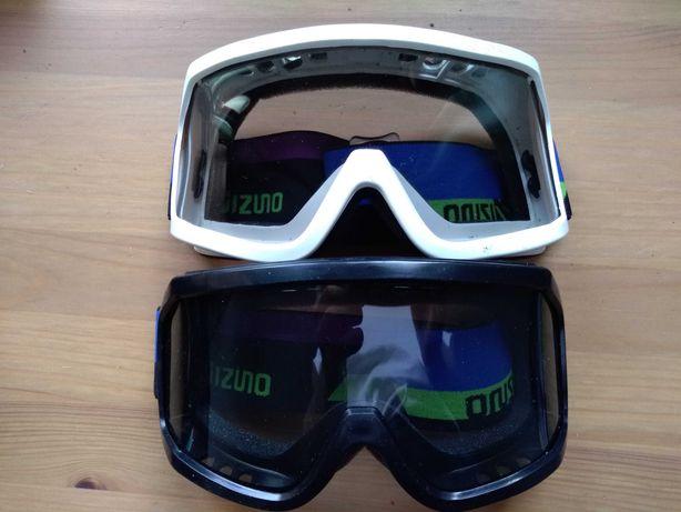 Gogle narciarskie Mizuno 2 szt.
