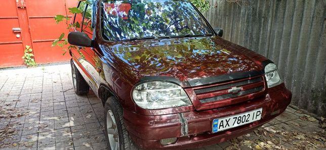 Chevrolet Niva (С усиленной подвеской)