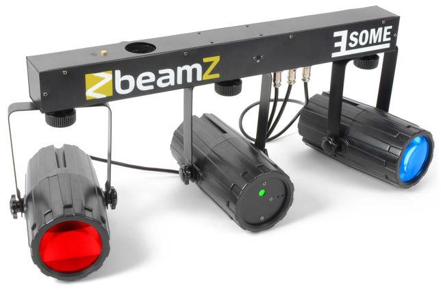 Efekty disco Beamz 3-Some Light Set 2X 57 LED RGBW - 2szt
