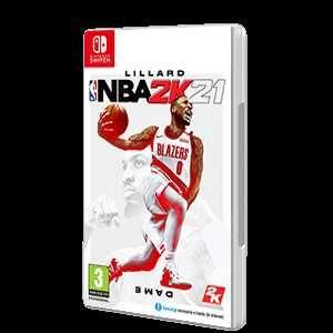 Jogo Nintendo Switch NBA2K21 (NOVO)