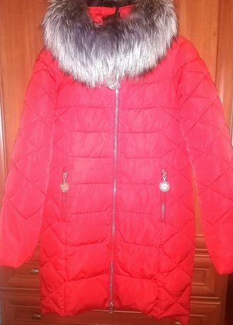 Продам пуховик-пальто