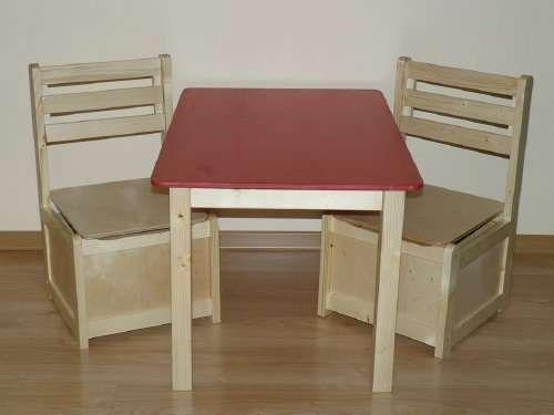 Stolik + 2 krzesełka dla dzieci DKS16