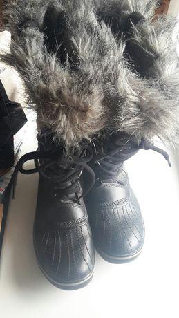 Sorel чоботи сапоги шкіряні кожаные